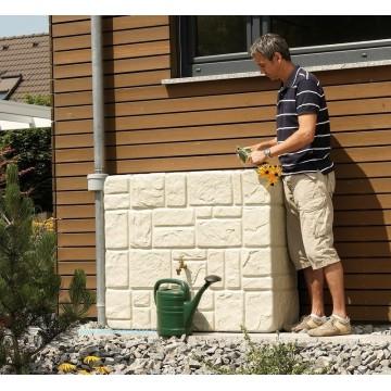 Réservoir Brick murale Garantia 300 L avec robinet et collecteur