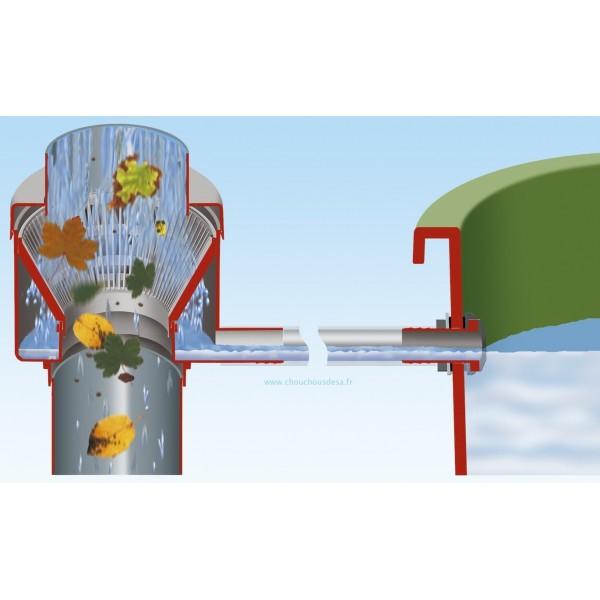 Reservoir 300 L Amphore Avec Robinet Et Collecteur Garantia