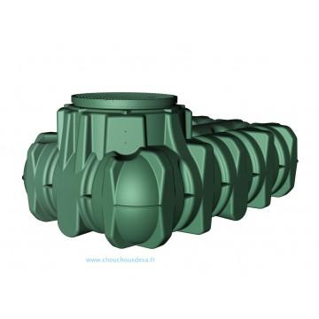 Cuve Li-Lo 1500 L enterrée avec pompe et filtration Garantia