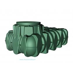 Cuve  3000 L à enterrer Li-Lo avec pompe et filtration Garantia