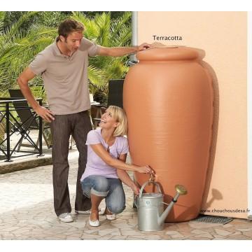 Réservoir amphore murale Garantia 350 L avec collecteur et robinet