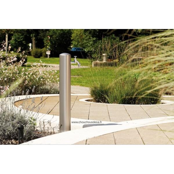 Fontaine de jardin Rondo gris argent Garantia - Chouchousdesa