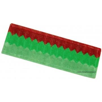 Bandeau microfibre tri compositions Delta pour lavage sols