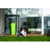 Réservoir 350 L Color Apple sur une terrasse