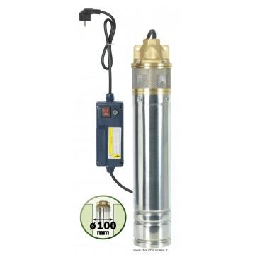 Pompe pour puits et forage 750 w 1 turbine chouchousdesa - Pompe de forage ...