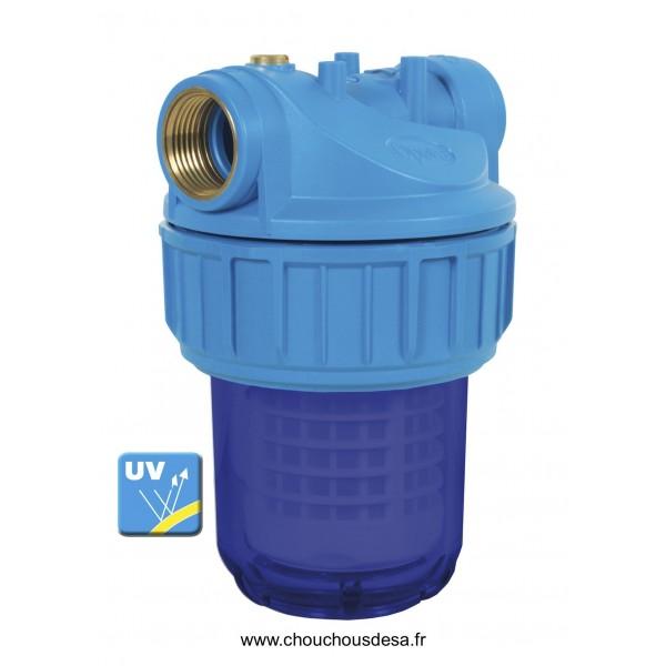 Filtre eau avant pompe filtration 50 microns lavable for Filtre pour pompe a eau