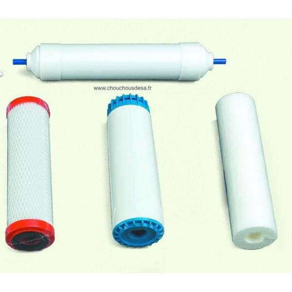 kit 4 filtres pour purificateur d 39 eau cintroclear uf 400. Black Bedroom Furniture Sets. Home Design Ideas