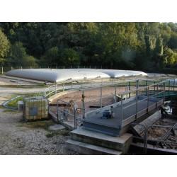 Citerne souple 150 m³ pour stockage d'effluents liquides