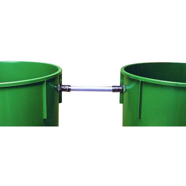 kit 2 cuves cylindriques de 310 l pour la r cup ration d. Black Bedroom Furniture Sets. Home Design Ideas