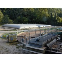 Citerne souple 400 m³ pour stockage d'effluents liquides