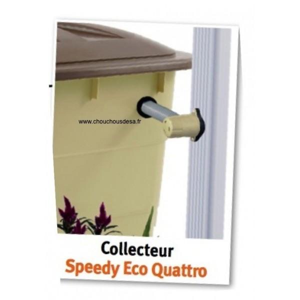collecteur speedy quattro pour descente carr e ou. Black Bedroom Furniture Sets. Home Design Ideas