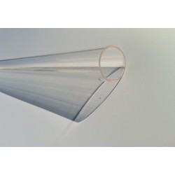 Tube quartz diamètre 30 mm L 890 mm pour lampe UV bi-culots