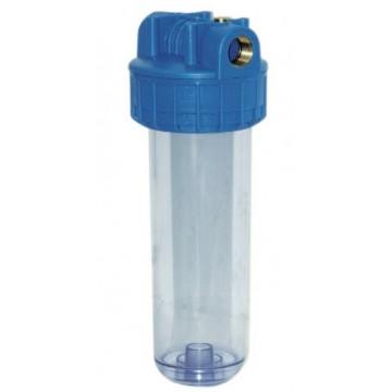 Porte filtre 9 ou 20 pouces traité anti-UV avec clé et fixation Alfaa