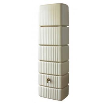 Réservoir Slim Garantia 300 L avec collecteur de gouttière et robinet