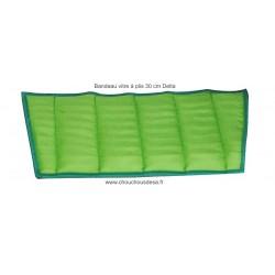 Mop microfibre vitres à plis 30 cm Delta de Concept Microfibre