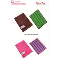 Memo Pad carré éponge microfibre à mémoire de forme