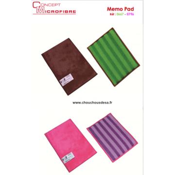 Memo Pad tampon microfibre à mémoire de forme