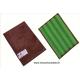 Tampon Mémo Pad à mémoire de forme vert et marron de Concept Microfibre