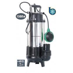 Pompe de relevage pour eaux de vannes 1500 W à système Vortex