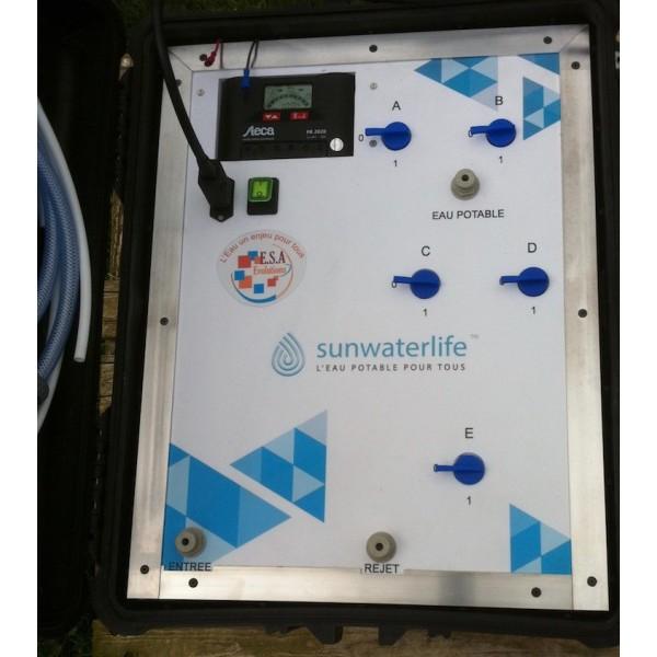 Aqualink uf l 39 ultrafiltration mobile et solaire de sunwaterlife chouchousdesa - Purificateur d eau portable ...