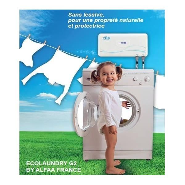 eco laundry g2 pour laver le linge cologiquement sans lessive chouchousdesa. Black Bedroom Furniture Sets. Home Design Ideas