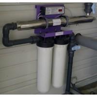 Skid ECOSTREAM 6 plus pour potabilisation de l'eau par UVC, Alfaa
