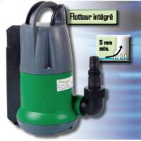 Pompe vide-cave 400W automatique avec flotteur intégré