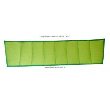 Mop microfibre vitres à plis 46 cm Delta