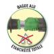 Sertissage du tuyau d'arrosage extensible par bague aluminium