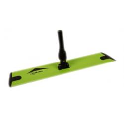 Plateau articulé 40 cm support mop microfibre à bandes Velcro