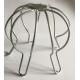 Crapaudine ou filtre de gouttière de 80 à100 mm en acier galvanisé