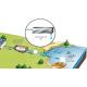Canal externe UV Alfaa pour traitement des effluents domestiques