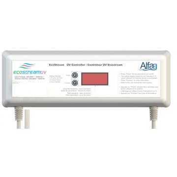 Coffret électronique pour stérilisateur UV Ecostream 2 ou 4 ou 6 Alfaa