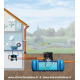 Implantation de la cuve à enterrer Habitat Premium Flat 3000 L Garantia