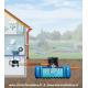 Plan d'implantation de la cuve à enterrer Habitat Premium Flat 5000 L de Garantia