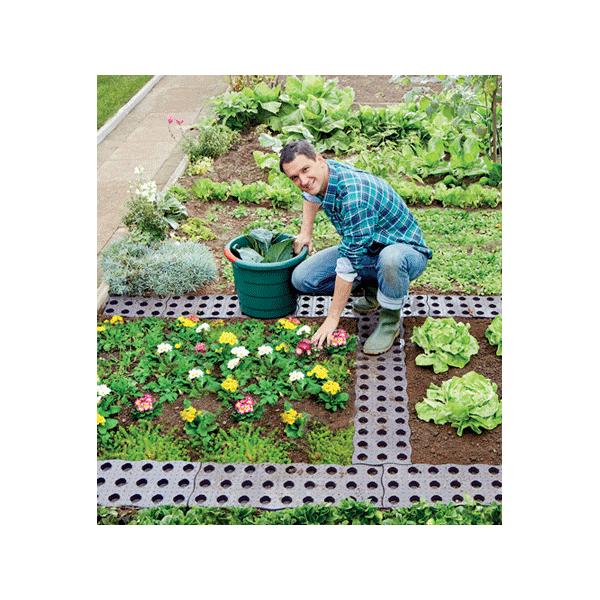 kit de 16 dalles pour chemin potager ou jardin garantia chouchousdesa