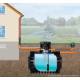 Cuve 1600 L enterrée 4RAIN Garantia avec pompe et filtration