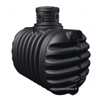 Cuve 2650 L à enterrer avec pompe immergée et filtration Garantia