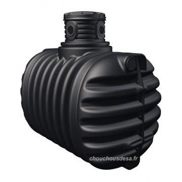 Cuve 2650 L Garantia à enterrer avec pompe immergée et filtration