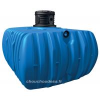 Cuve 5000 L à enterrer Flat Garantia avec pompe immergée et filtration
