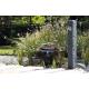 fontaine Granit gris foncé en situation