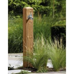 Fontaine de jardin Wood Garantia aspect bois naturel en PE