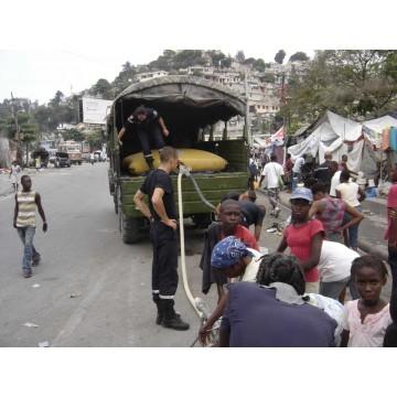 Citerne souple 4000 L pour transport et distribution d'eau