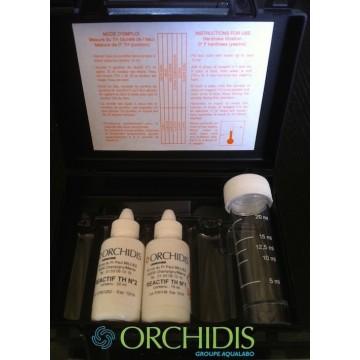 Kit TH test d'analyse de la dureté de l'eau pour adoucisseurs