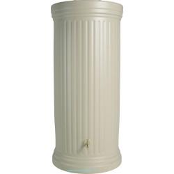 Réservoir colonne cylindrique Garantia 330L avec robinet et collecteur