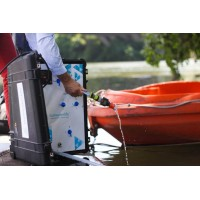 Purificateur d'eau solaire Aqualink UF de sunwaterlife by ESA Evolutions Europe