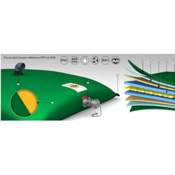 Citerne souple Labaronne Citaf 10 m3 pour récupération d'eau de pluie