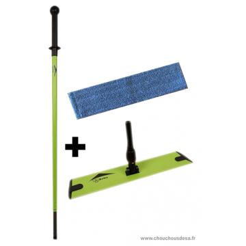 Balai Microfibre sol Delta complet avec mop pour le lavage des sols