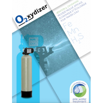 Déferriseur débit de 2,7 à 4,1 m3 /h pour éliminer le FER dans l'eau