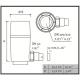 Dimensions du collecteur de gouttière Regendieb Pro GRAF Garantia